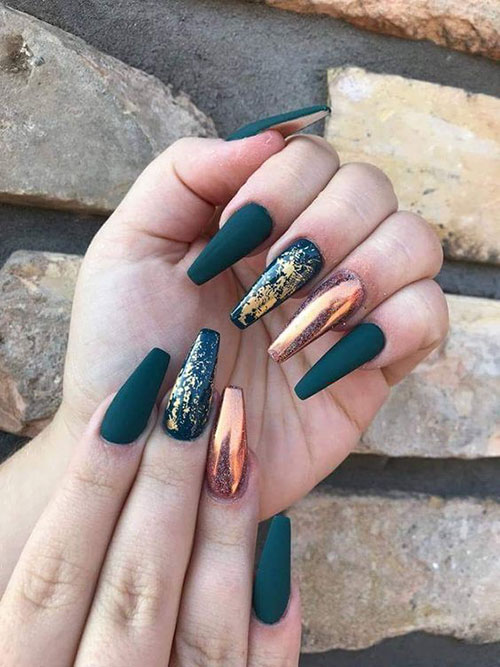 Coffin Nails Long Ideas