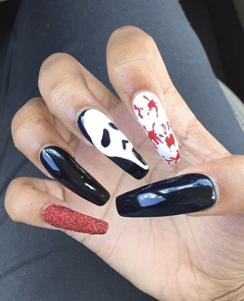 Acrylic Nails Halloween