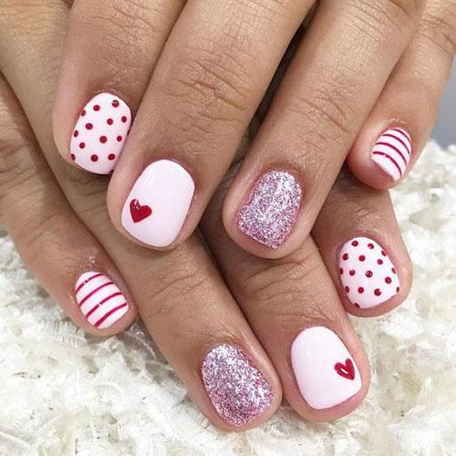 Valentines Day Nail Design