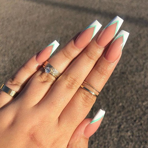 French Coffin Nail