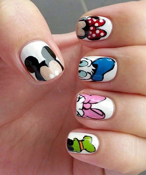 Disney Inspired Nails