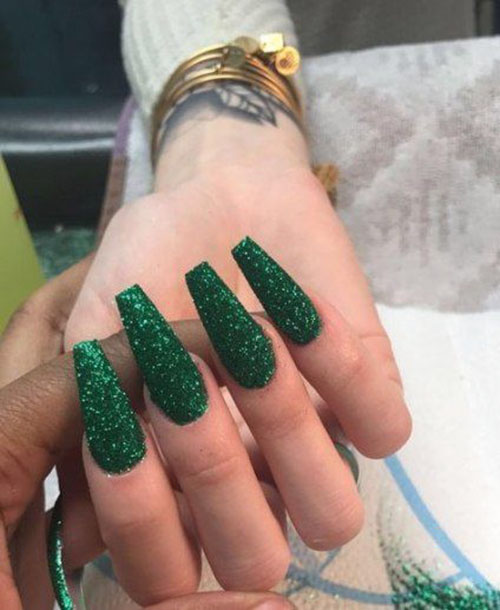 30 beautiful green acrylic nails ideas nail art designs 2020 30 beautiful green acrylic nails ideas