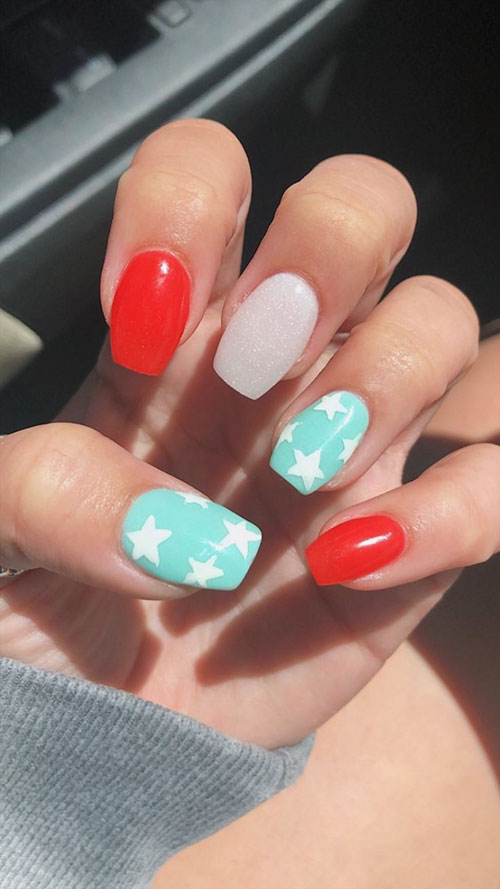 Acrylic Nails Spring