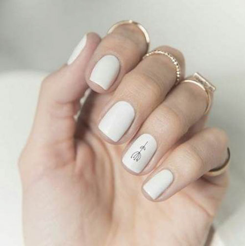 Short Skinny Square Nails