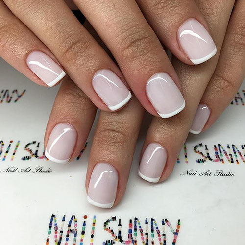 Pictures Of French Tip Nails
