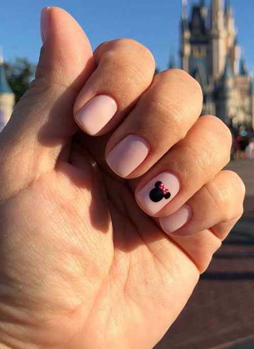 Disney Character Nails