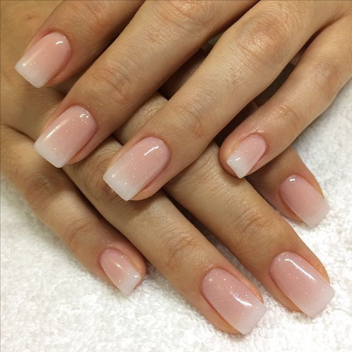 Reverse French Tip Nails
