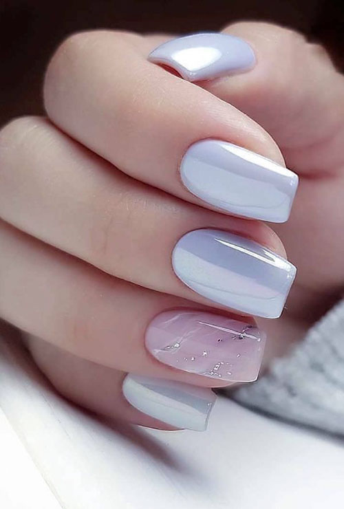 Short Square False Nails