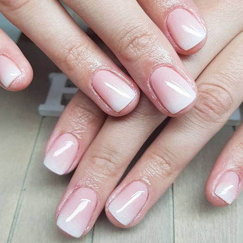 French Tip Acrylics