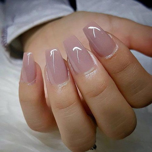 25 Elegant Short Coffin Nails Ideas For Ravishing Look Nail Art Designs 2020