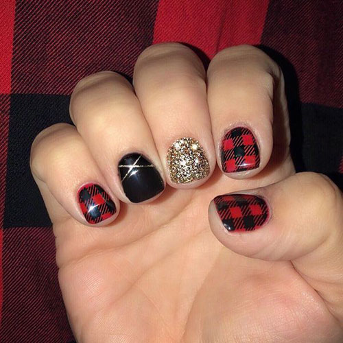 Pictures Of Christmas Nails