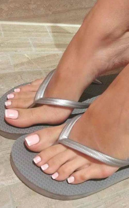Feet Nail Shapes