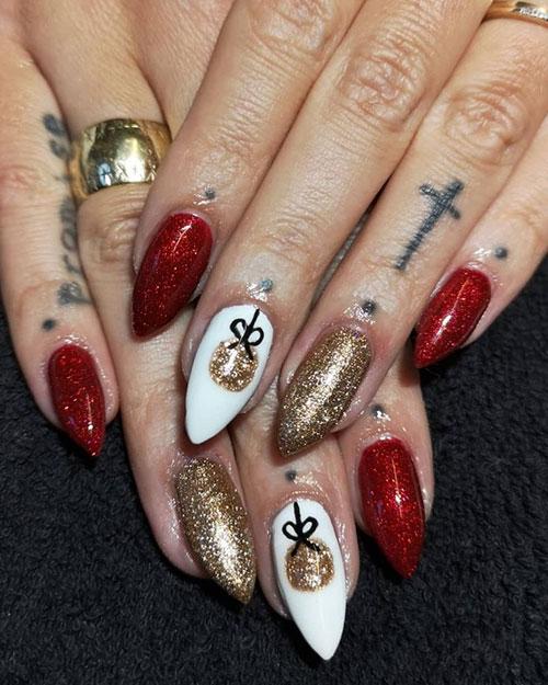 Unique Christmas Nails