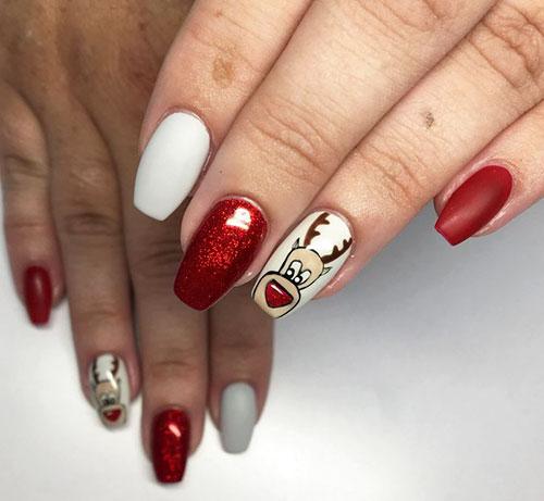 Nightmare Before Christmas Nail Ideas