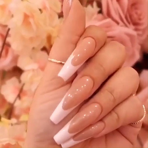 Nails French Acrylic
