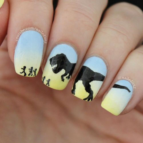 Artistic Putty Nails