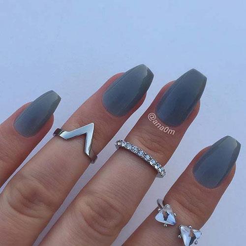 Nails Short Coffin