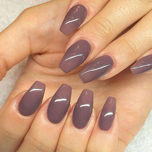 Very Short Coffin Nails
