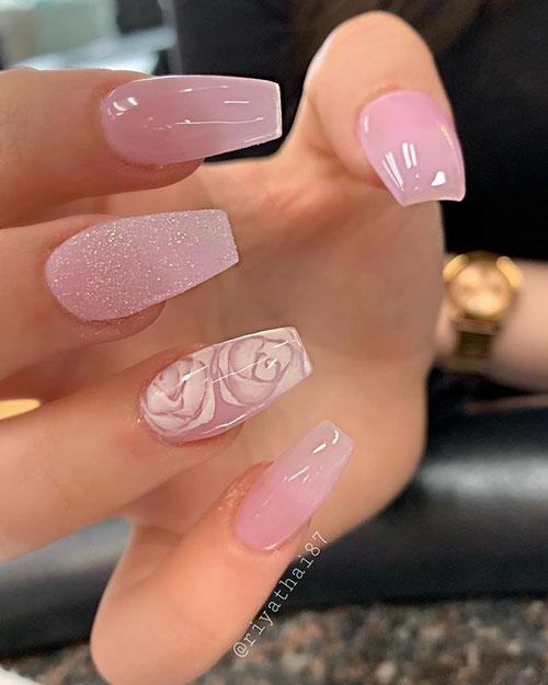 Pictures Of Short Coffin Nails